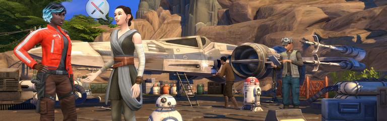 The Sims 4 - Геймплейный трейлер дополнения Star Wars Путешествие на Батуу