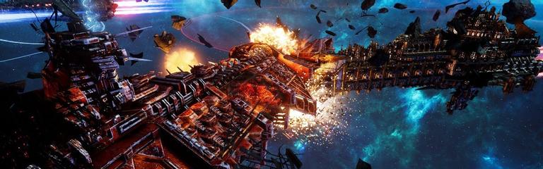 Стрим: Battlefleet Gothic: Armada 2 - Продолжаем покорять космос