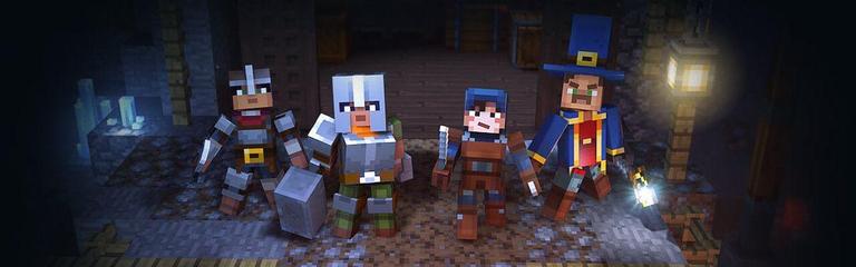Minecraft Dungeons — Релизный трейлер кубической Diablo