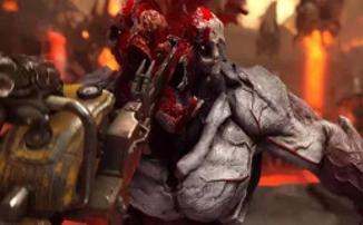 """Doom Eternal - Уровень """"База сектантов"""" в новом ролике"""