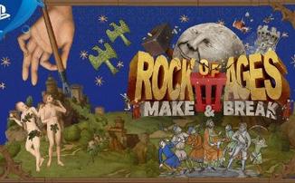 Rock of Ages 3: Make & Break - Новая часть серии игр о разрушающем камне выйдет в следующем году