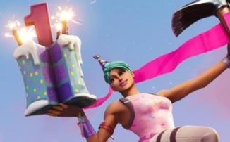 Fortnite празднует первую годовщину