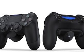 PlayStation анонсировала заднюю кнопку на геймпад