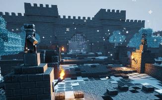 "Minecraft Dungeons - Дополнение ""Creeping Winter"" получило дату релиза"