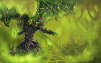 World of Warcraft — Один чернокнижник, одна «Стрела Хаоса», 3kk урона и 20 трупов