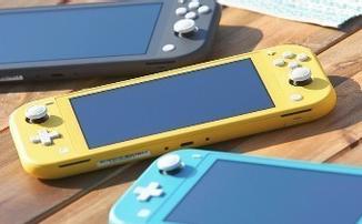Nintendo представила портативную консоль Nintendo Switch Lite