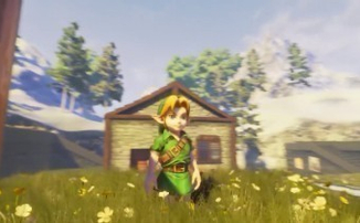 The Legend of Zelda: Ocarina Of Time - Моддер делает игру на Unreal Engine 4