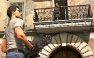 """Serious Sam 4 - Геймплейный процесс специально """"стоит"""" на одном месте"""