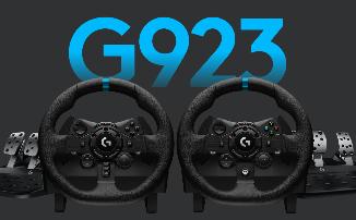 Компания Logitech представила новый руль и педали Logitech G923