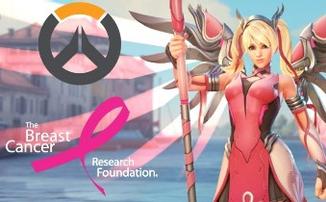 """Overwatch - Купив новый образ """"Pink Mercy"""" вы поможете в борьбе с раком груди"""