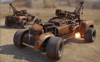 """Crossout - Стартовало событие """"Doomsday Cars"""""""