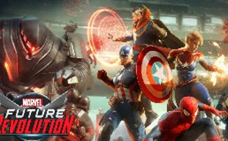 Marvel Future Revolution - Анонсирована мультиплеерная RPG с открытым миром для iOS и Android