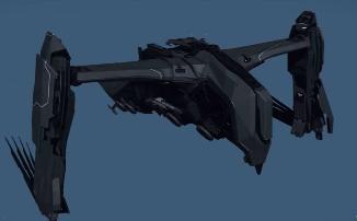 Star Citizen - Высадочный корабль пришельцев Esperia Prowler