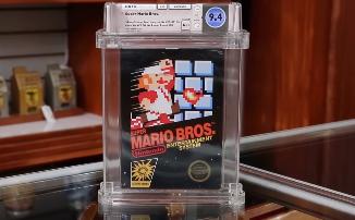 За картридж с Super Mario Bros для NES отдали 114 тысяч долларов