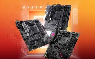 Материнские платы на базе чипсета AMD B550 от ASUS