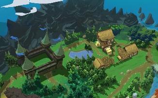 """Battlerite - Первый взгляд на карту """"Королевской битвы"""""""