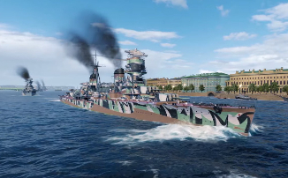 World of Warships - Виртуальный парад ко Дню Победы