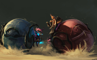 Guild Wars 2 — Прими участие в гонках на жуках