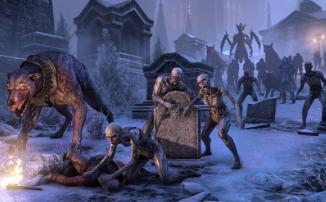 The Elder Scrolls Online Greymoor - Пьем кровь в готическом соборе с разработчиками