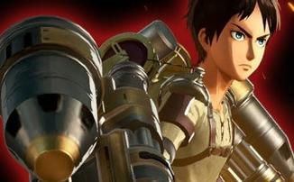 Attack on Titan 2: Final Battle - Новые трейлеры, показывающие геймплей Гатлинга и Титана