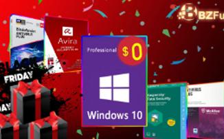 Скидки в 2020: Windows 10 бесплатно и антивирусы за полцены