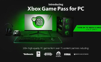 Microsoft анонсировала Xbox Game Pass для ПК