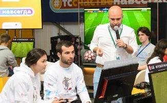 Киберфутбольный турнир от LG и Нобеля Арустамяна