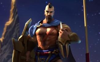 League of Legends - Игровой процесс за обновленного Пантеона