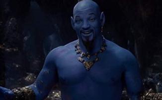 Уилл Смит в образе Джинна в трейлере «Аладдина»