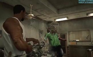 Новый мод добавляет CJ и Big Smoke из GTA: San Andreas в Resident Evil 2