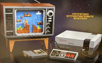 Компания LEGO выпустит конструктор NES за 18,500 рублей