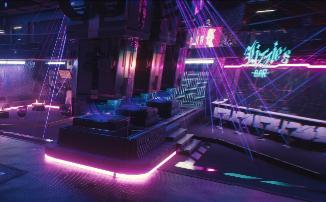 Cyberpunk 2077 - Новые скриншоты с трассировкой лучей