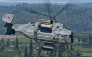 """War Thunder - Бои на просторах """"Швеции"""" и вертолет Ка-29"""