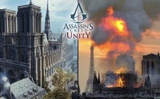 Assassin's Creed Unity может помочь восстановить Нотр-Дам-де-Пари