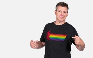 CD Projekt RED вновь поддержала ЛГБТК-сообщество, запустив в продажу радужные футболки