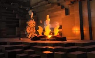 Невероятный кроссовер LEGO Dark Souls