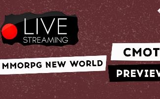[СТРИМ] Первый стрим на YouTube - смотрим Preview тест New World