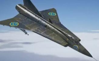 """War Thunder - Топовый шведский """"реактив"""" и тяжелый крейсер Ее Величества"""