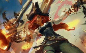 Legends of Runeterra - Мисс Фортуна и Твистед Фэйт на страже Билджвотера