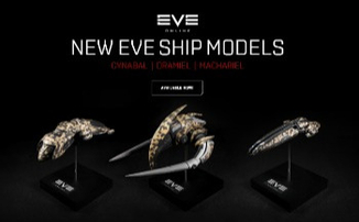EVE Online — Новая линейка моделей кораблей от Mixed Dimensions
