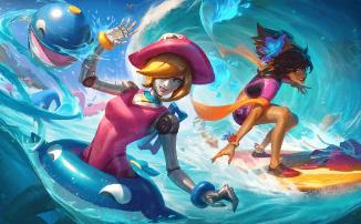 League of Legends - Новые летние облики появятся уже в июле