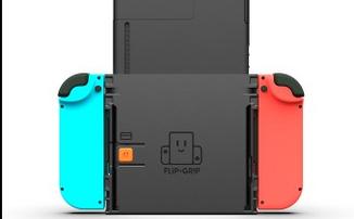 Flip Grip поможет комфортно играть на Nintendo Switch