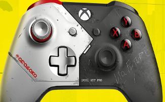 [Утечка] Cyberpunk 2077 — В сеть попали изображения стилизованного геймпада для Xbox One