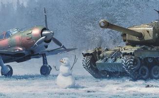 """War Thunder - Стартовало """"Новогоднее приключение"""""""
