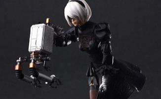 NieR: Automata - Великолепная экшен-фигурка 2B и летный модуль Ho229