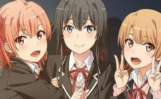 """Третий сезон аниме """"Как и ожидалось, моя школьная романтическая жизнь не удалась"""" вернул себе дату премьеры"""