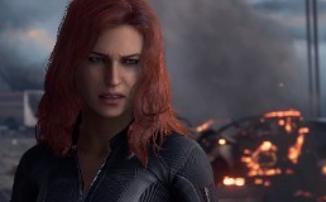 Marvel's Avengers: A-Day — Костюм и героические способности Черной Вдовы