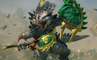 Total War: WARHAMMER II - Великий белый ящер готовится вступить в бой