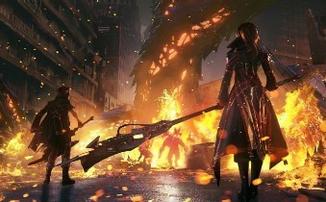 [gamescom 2019] Code Vein - Прогулка по огненной локации