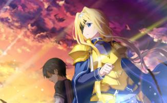 Показ «Sword Art Online: Алисизация - Война Андерворлда» возобновится 25 апреля